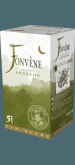 WINE BOX FONVENE BLANC - VIGNERONS ARDÉCHOIS