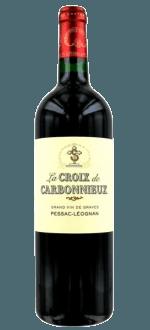 LA CROIX DE CARBONNIEUX 2014 - SECOND WINE CHATEAU CARBONNIEUX