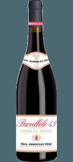 PARALLELE 45 - 2015 - PAUL JABOULET AINE - Cotes du Rhone - Grenache & Shiraz/Syrah