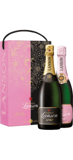 CHAMPAGNE LANSON BRUT & ROSE TWIN PACK