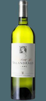 VIRGINIE DE VALANDRAUD BLANC 2014 - SECOND WINE OF BLANC DE VALANDRAUD