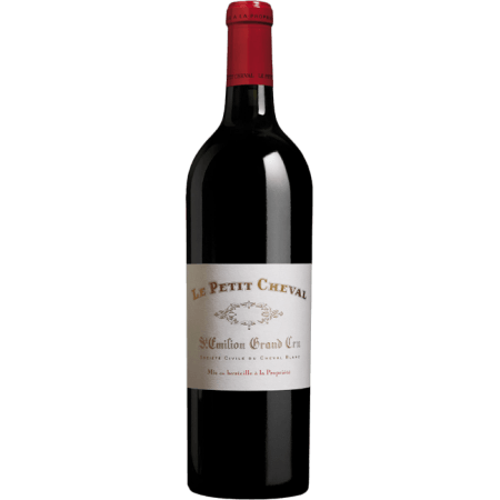 LE PETIT CHEVAL 2010 - SECOND WINE OF CHATEAU CHEVAL BLANC