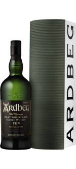 ARDBEG TEN 10 YEARS OLD - EN GIFT SET