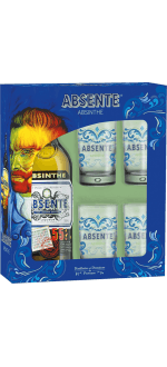 GIFT SET ABSENTE + 4 GLASSES