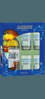 GIFT SET ABSENTE + 4 GLASSES