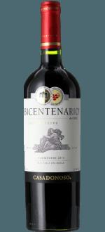 BICENTENARIO GRAN RESERVA CARMENERE 2013 - CASA DONOSO