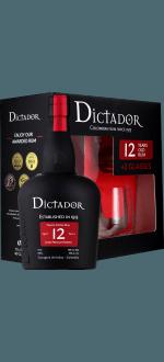 RUM DICTADOR 12 YEARS OLD - EN GIFT SET 2 GLASSES