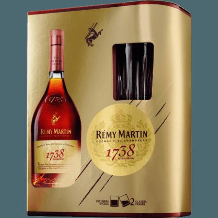 REMY MARTIN 1738 - EN GIFT SET 2 GLASSES