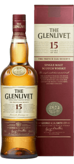 THE GLENLIVET FRENCH OAK 15 YEARS OLD - EN ETUI