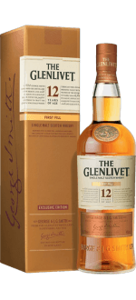 THE GLENLIVET FIRST FILL 12 YEAR OLD - IN PRESENTATION CASE