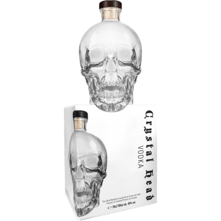 CRYSTAL HEAD - IN PRESENTATION CASE