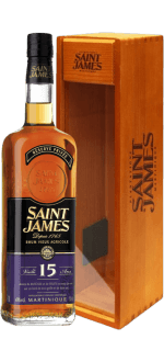 SAINT JAMES RUM VIEUX 15 YEARS OLD - ETUI BOIS