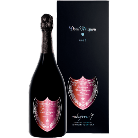 ros champagne dom perignon 2005 gift box tokujin yoshioka order online