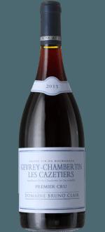 GEVREY CHAMBERTIN 1er CRU CAZETIERS 2015 - DOMAINE BRUNO CLAIR