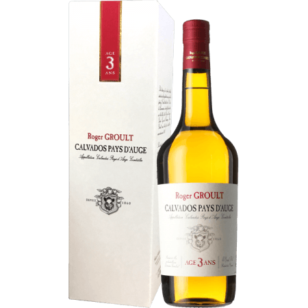 CALVADOS RESERVE 3 YEARS OLD - ROGER GROULT - IN GIFT BOX