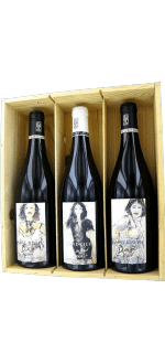 RED WINE TRIO BOURASSEAU 2015 - YVES CUILLERON IN GIFT BOX