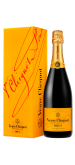 CHAMPAGNE VEUVE CLICQUOT YELLOW LABEL BRUT IN GIFT PACK