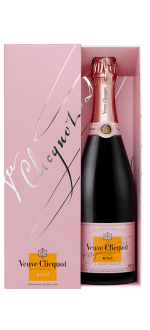CHAMPAGNE VEUVE CLICQUOT BRUT ROSE - IN GIFT PACK