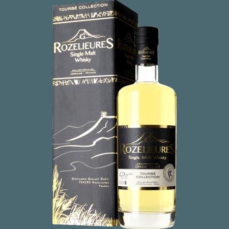 WHISKY FRANCAIS G.ROZELIEURES - TOURBE COLLECTION - EN ÉTUI