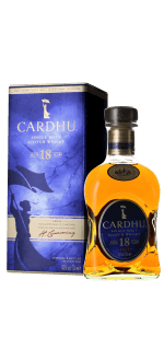 CARDHU 18 YEAR OLD SINGLE SPEYSIDE MALT WHISKY IN GIFT PACK