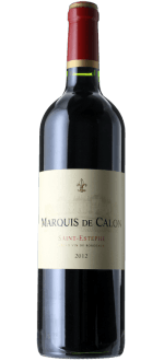 MARQUIS DE CALON 2012 - SECOND WINE CHATEAU CALON SEGUR