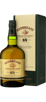 REDBREAST 15 YEARS OLD SINGLE POT STILL - EN ETUI