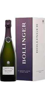 CHAMPAGNE BOLLINGER - LA GRANDE ANNEE ROSE 2007 - EN GIFT SET