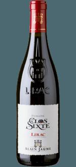 LIRAC - CLOS DE SIXTE 2016 - ALAIN JAUME