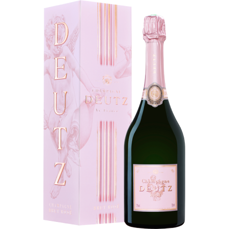 CHAMPAGNE DEUTZ BRUT ROSE 75CL