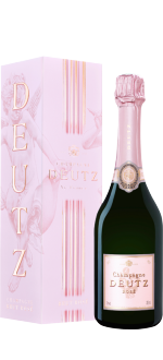CHAMPAGNE DEUTZ BRUT ROSE HALF BOTTLE 37.5CL IN GIFT PACK