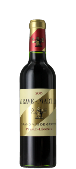 HALF BOTTLE LAGRAVE-MARTILLAC 2015 - SECOND WINE OF CHATEAU LATOUR-MARTILLAC 2015