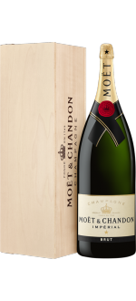 CHAMPAGNE MOET & CHANDON BRUT IMPÉRIAL NEBUCHADNEZZAR 15 L IN WOODEN CASE