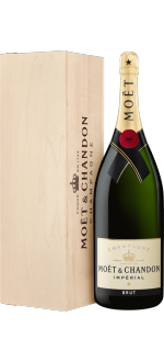 CHAMPAGNE MOET ET CHANDON BRUT IMPERIAL METHUSELAH 6L IN WOODEN CASE