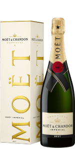 CHAMPAGNE MOET ET CHANDON BRUT IMPERIAL 0.75L IN GIFT BOX