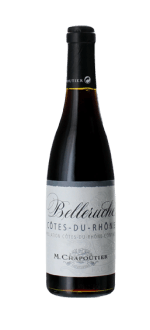 DEMI-BOTTLE BELLERUCHE ROUGE 2017 - MICHEL CHAPOUTIER