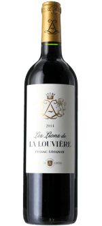 LES LIONS DE LA LOUVIERE 2015 - SECOND WINE OF CHATEAU LA LOUVIERE