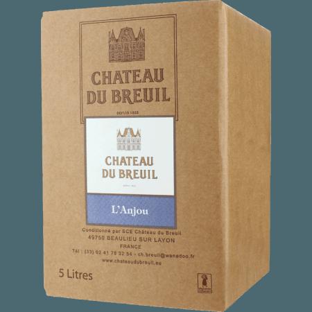 BIB - ANJOU ROUGE 2017 - CHATEAU DU BREUIL