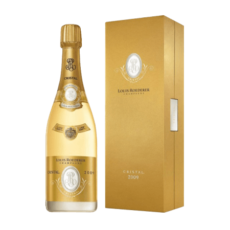 CRISTAL 2008 - CHAMPAGNE LOUIS ROEDERER - GIFT SET PREMIUM