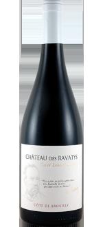 """COTE DE BROUILLY """"CUVEE P"""" LOUIS PASTEUR 2015 - CHÂTEAU DES RAVATYS"""