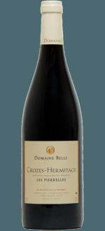 CROZES-HERMITAGE - LES PIERRELLES 2016 - DOMAINE BELLE