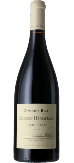 CROZES-HERMITAGE - ROCHE PIERRE 2016 - DOMAINE BELLE