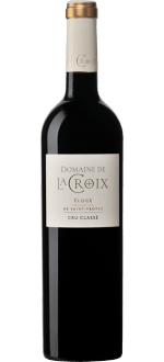 ELOGE ROUGE 2016 - DOMAINE DE LA CROIX - Cru Classé