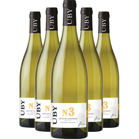 UBY White Wine 6 Pack - FREE DELIVERY with code FREEDELIV2