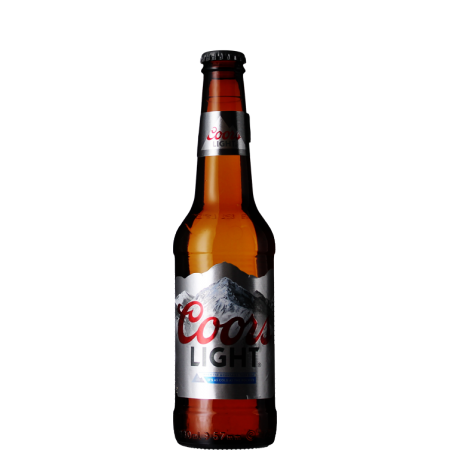 COORS LIGHT 33CL BIERE AMERICAINE