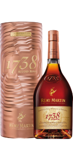REMY MARTIN 1738 - GIFT SET METAL CUIVRE