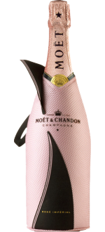 CHAMPAGNE MOET & CHANDON IMPÉRIAL - BRUT ROSE - EN ETUI ISOTHERME