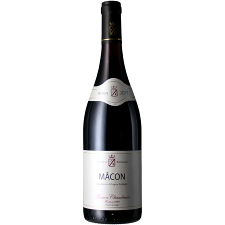 MACON ROUGE 2017 - MAISON CHANDESAIS