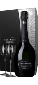 CHAMPAGNE LAURENT-PERRIER - GRAND SIECLE - EN GIFT SET 2 GLASSES LUXE