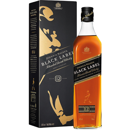 JOHNNIE WALKER BLACK LABEL 12 YEARS OLD - EN ETUI