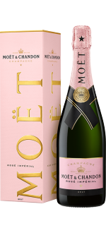 CHAMPAGNE MOET & CHANDON BRUT ROSE IN GIFT BOX